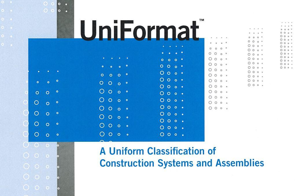 csi masterformat 2004 divisions pdf